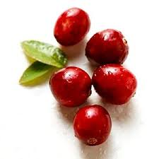 cranberries the most