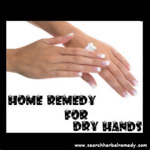 natural remedies for dry chapped hands and cuticles