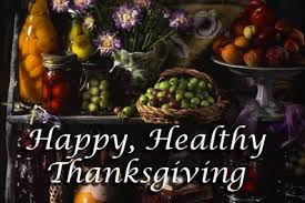Happy Healthy Thanksgiving