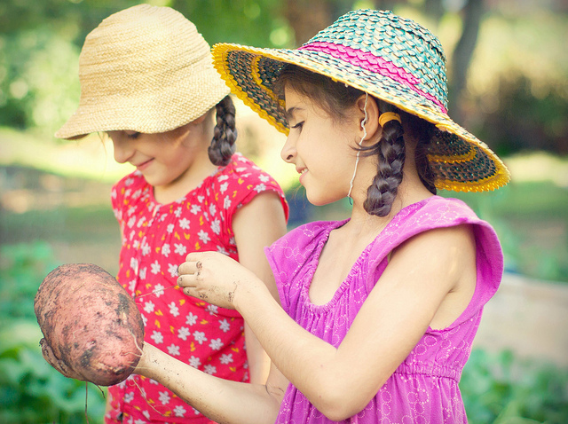 Summertime Garden Activities for Kids
