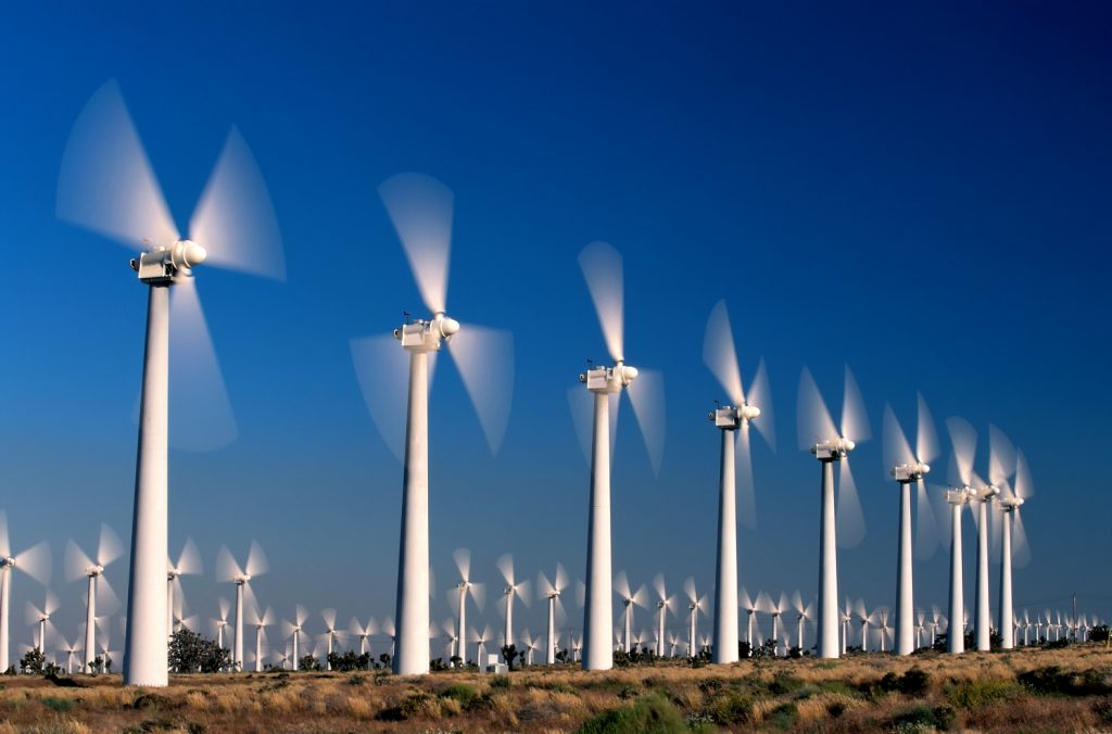 Wind-Turbines-Windmill-Farm