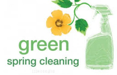 green spring cleaning