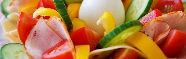 Fresh salad without GMO