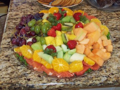 organic fruit for health party