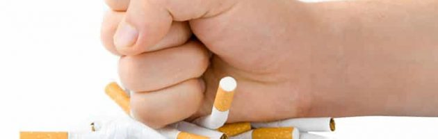 quit smoking with organic foods