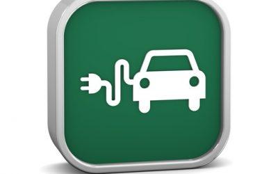 Electric Car Sign