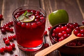 cranberries food for STD