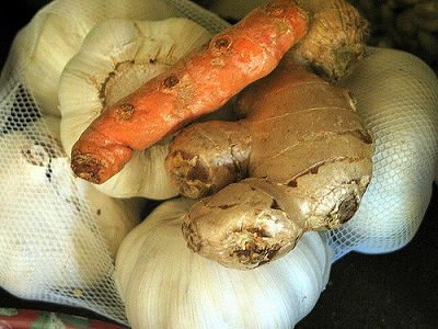 home remedy for heart disease ginger and garlic